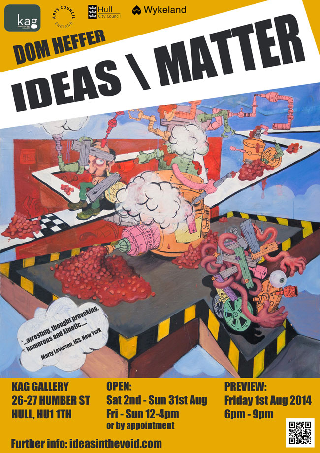 Dom Heffer - IDEAS/MATTER - August 2014