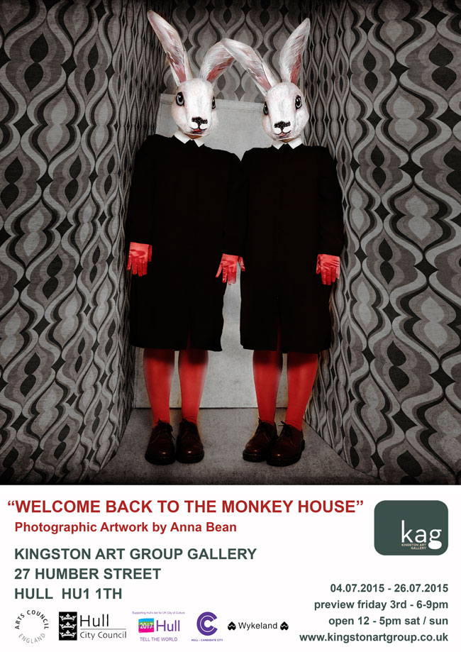 Anna Bean - Welcome Back to the Monkey House