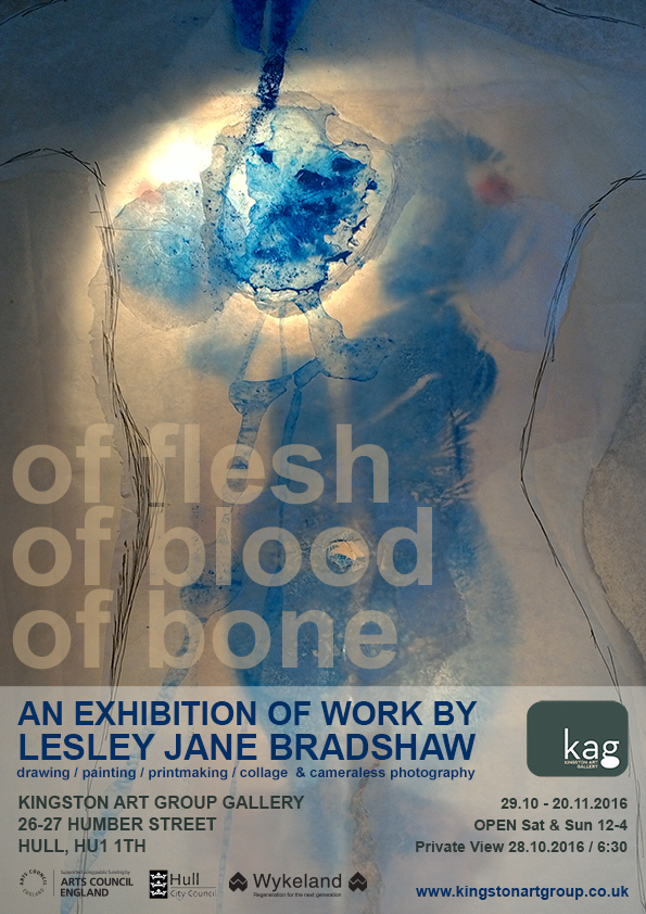 of flesh of blood of bone - lesley bradshaw - nov 2016
