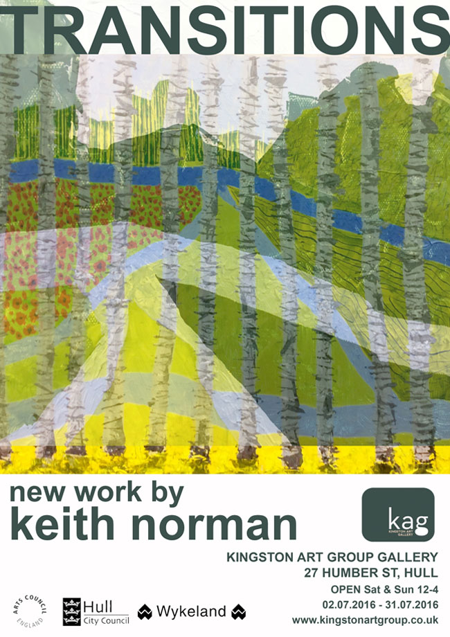 Keith Norman - Transitions June 2016